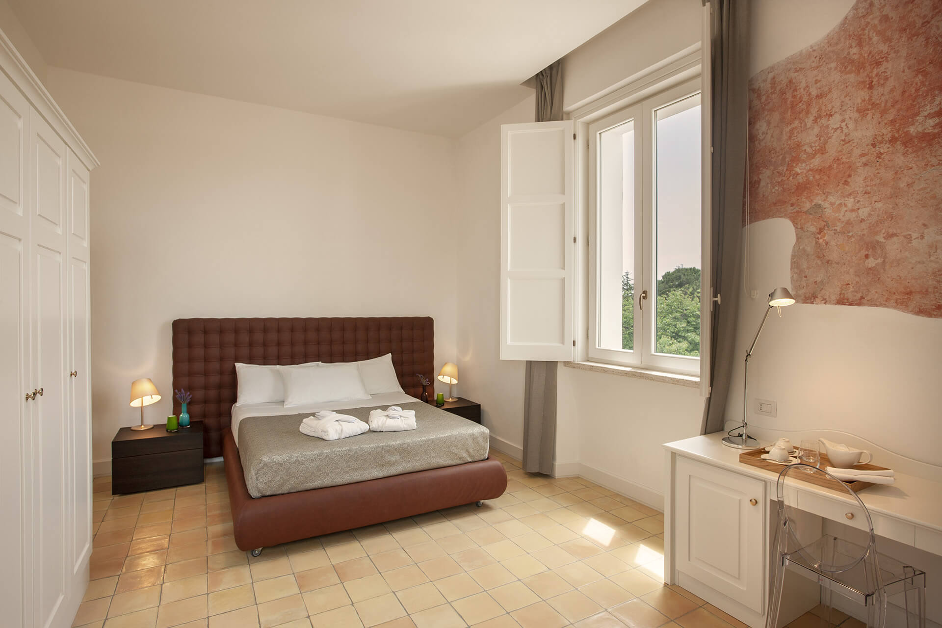 Rooms: The Rooms Of The 4-star Hotel In Paestum Tenuta Duca